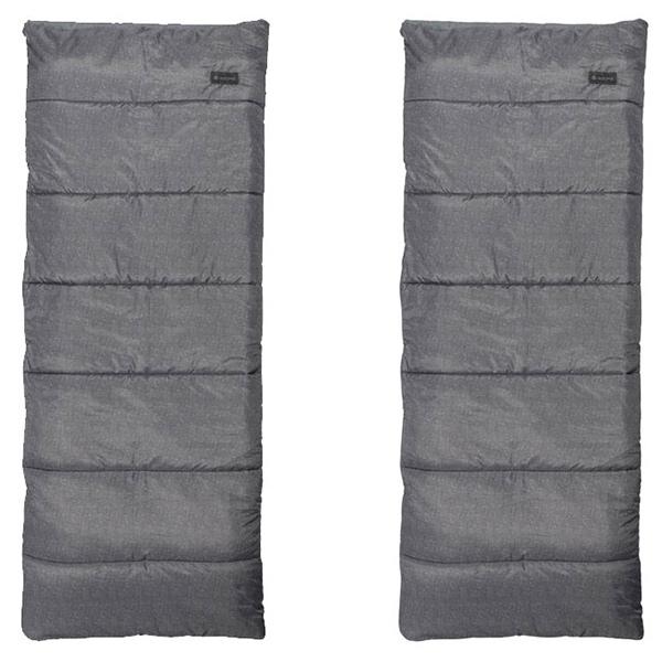 snow peak(スノーピーク) エントリーパックSS SET-105グレー シュラフ 寝袋 アウトドア用寝具 封筒型 封筒サマー アウトドアギア