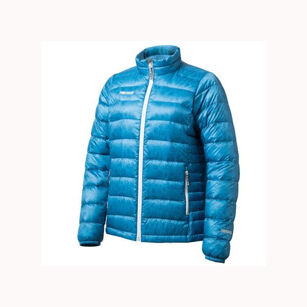 MARVEL PEAK(マーベルピーク) [廃盤処分]WSSLOWMOUNTAINQUI/(SKY)/L MJD-F5524W女性用 大人用 ブルー ジャケット ウエア アウトドア ダウンジャケット ダウンジャケット女性用 アウトドアウェア