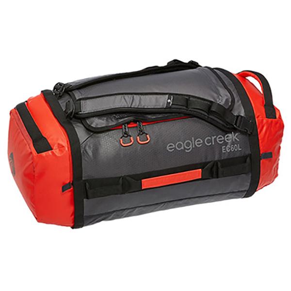EAGLE CREEK(イーグルクリーク) EC カーゴハウラーダッフル 60L フレーム 11862190レッド ダッフルバッグ ボストンバッグ トラベル・ビジネスバッグ ダッフル アウトドアギア