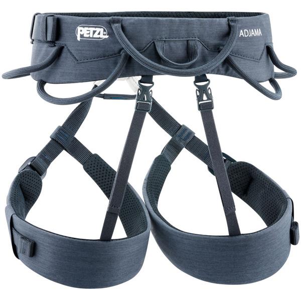 PETZL(ペツル) アジャマ/M C022AA01グレー ハーネス トレッキング 登山 男性用 アウトドアギア