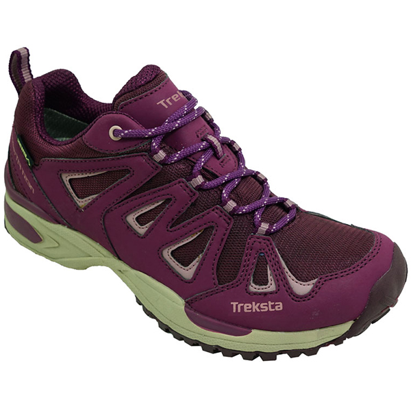 TrekSta(トレクスタ) ネバドLOWレースGTX/バーガンディ/24.5 EBK163アウトドアギア トレッキング用 トレッキングシューズ トレッキング 靴 ブーツ パープル