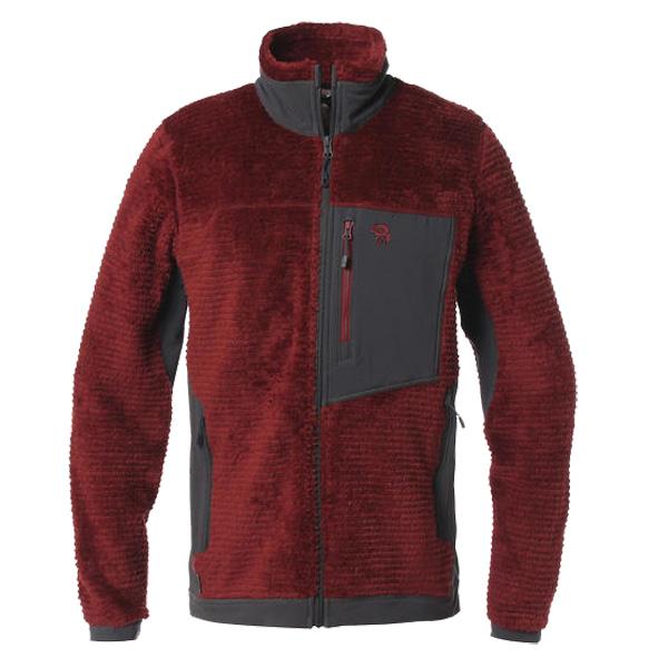 Mountain Hardwear(マウンテンハードウェア) MONKEYMANFLEE/602/M OM7995男性用 レッド アウター メンズウェア ウェア フリースジャケット フリースジャケット男性用 アウトドアウェア