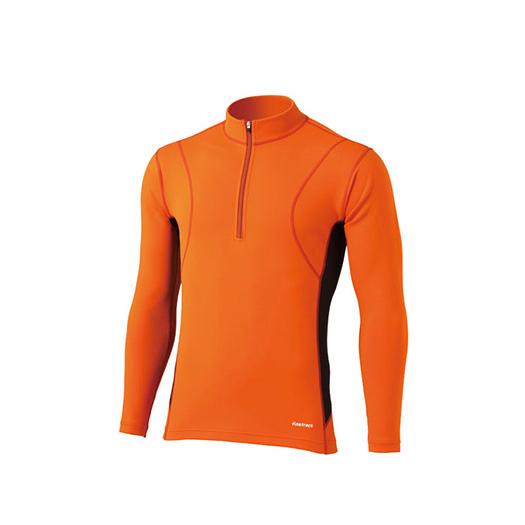 finetrack(ファイントラック) フラッドラッシュジップネック Ms CH FWM0122男性用 オレンジ カヤック カヌー マリンスポーツ パドリングウェア パドリングウェア アウトドアギア