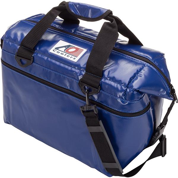 AO Coolers(エーオークーラー) 材質:ビニール、ナイロン、ポリエチレン、ポリエステル/ブルー AOFI24RBブルー クーラーボックス アウトドア アウトドア ソフトクーラー 20リットル アウトドアギア