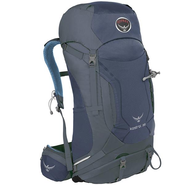 OSPREY(オスプレー) ケストレル 38/オーシャンブルー/M/L OS50151ブルー リュック バックパック バッグ トレッキングパック トレッキング30 アウトドアギア