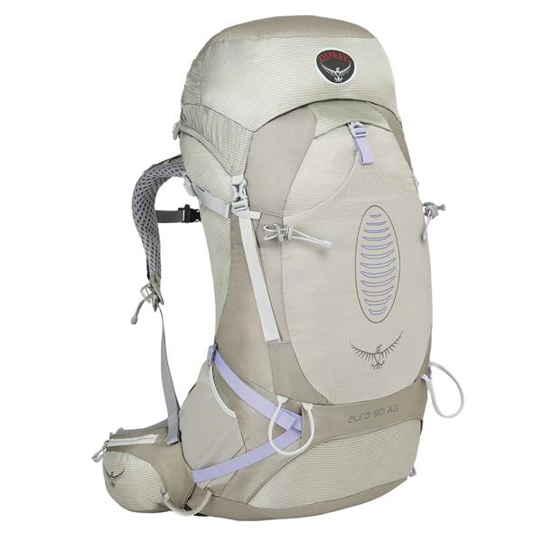 OSPREY(オスプレー) オーラAG 50/シルバーストリーク/S OS50226女性用 シルバー リュック バックパック バッグ トレッキングパック トレッキング50 アウトドアギア