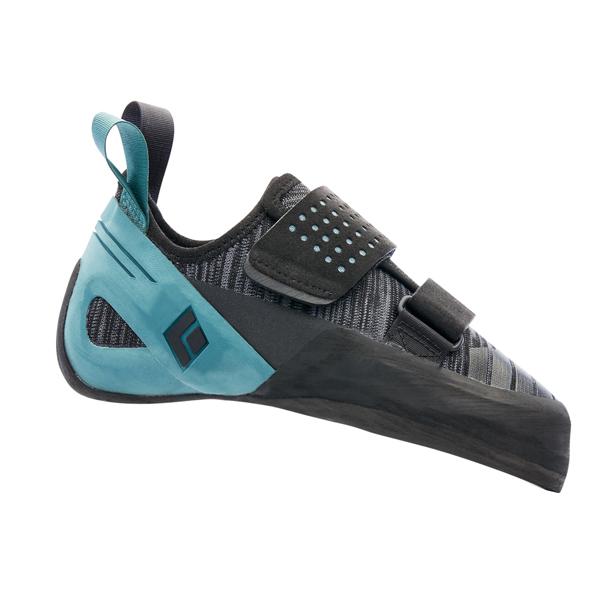 Black Diamond(ブラックダイヤモンド) ゾーンLV/シ―グラス/10.5 BD25240001105アウトドアギア クライミングシューズ アウトドアスポーツシューズ トレッキング 靴 ブーツ ブルー 男性用