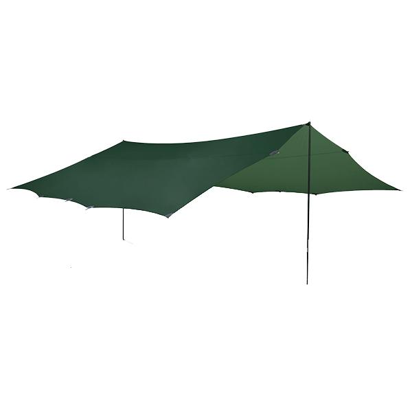 HILLEBERG(ヒルバーグ) タープ20エクスペディション /グリーン 12770030アウトドアギア スクエア型タープ テント グリーン