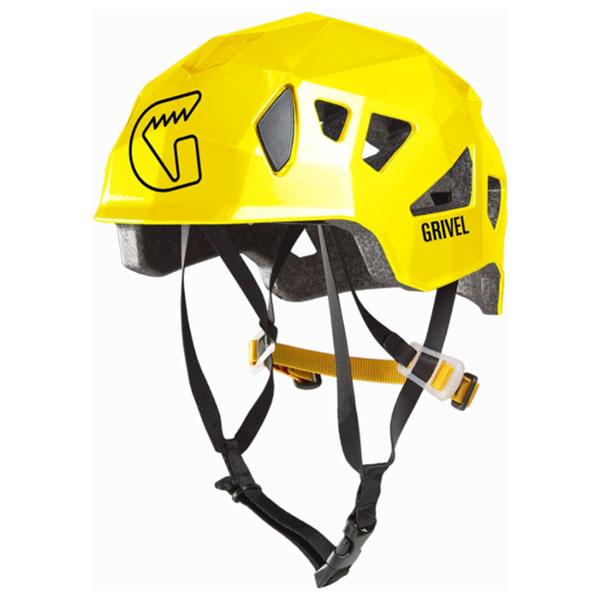 3980円以上送料無料 おうちキャンプ ベランピング Grivel グリベル ステルス 男女兼用 公式 登山 国内送料無料 ヘルメット GV-HESTEアウトドアギア イエロー トレッキング