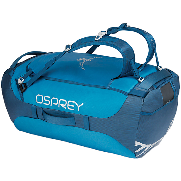 OSPREY(オスプレー) トランスポーター 95/キングフィッシャーブルー/ワンサイズ OS55182ブルー ダッフルバッグ ボストンバッグ トラベル・ビジネスバッグ ダッフル アウトドアギア