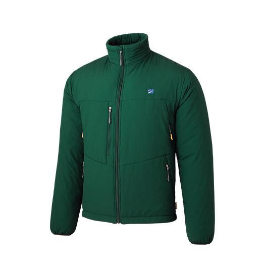 finetrack(ファイントラック) ポリゴン4ジャケット Ms TA FIM0223男性用 グリーン アウター メンズウェア ウェア ジャケット 中綿入り ジャケット 中綿入り男性用 アウトドアウェア