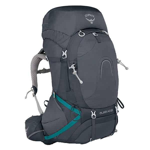 OSPREY(オスプレー) オーラAG 65/べスタルグレー/M OS50185女性用 グレー リュック バックパック バッグ トレッキングパック トレッキング60 アウトドアギア