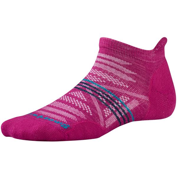 SmartWool(スマートウール) Ws PhDアウトドアライトマイクロ/ベリー/M SW71124女性用 ピンク 靴下 メンズウェア ウェア ソックス ウール アウトドアウェア