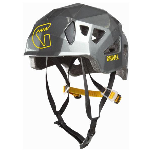 Grivel(グリベル) グリベル ステルス/チタン GV-HESTEアウトドアギア 登山 トレッキング ヘルメット グレー 男女兼用 おうちキャンプ