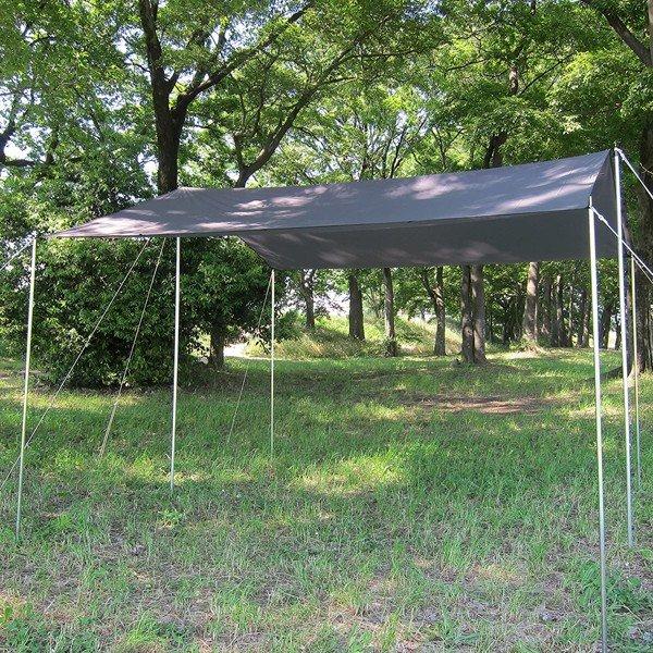 ISUKA(イスカ) オープンエア ウルトラライトタープ/グリーン 209602グリーン タープ タープ テント スクエア型タープ スクエア型タープ アウトドアギア