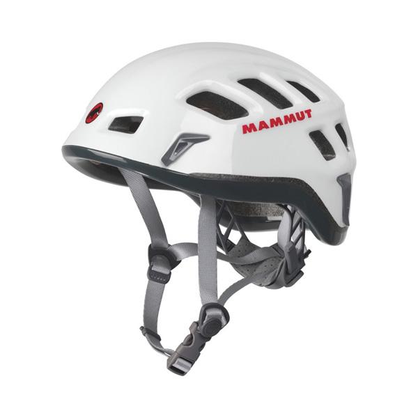 正規品 Mammut(マムート) Rock Rider/white-smoke(0256) 登山 ホワイト/52-57cm 2220-00130男女兼用 ホワイト トレッキング ヘルメット トレッキング 登山 アウトドアギア, ヒガシイズチョウ:f777f503 --- tonewind.xyz