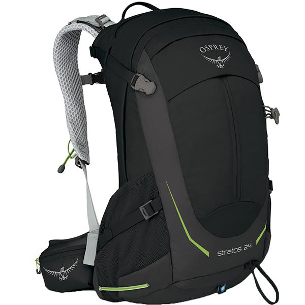 OSPREY(オスプレー) ストラトス 24/ブラック OS50304ブラック リュック バックパック バッグ トレッキングパック トレッキング20 アウトドアギア