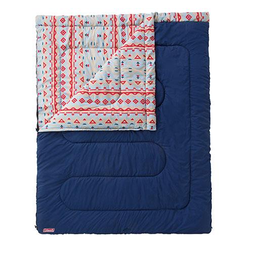 Coleman(コールマン) アドベンチャーススリーピングバッグ/C5 2000022260アウトドアギア 封筒スリーシーズン 封筒型 アウトドア用寝具 寝袋 シュラフ スリーシーズンタイプ(三期用)