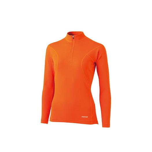 finetrack(ファイントラック) フラッドラッシュジップネック Ws CH FWW0122女性用 オレンジ カヤック カヌー マリンスポーツ パドリングウェア パドリングウェア アウトドアギア