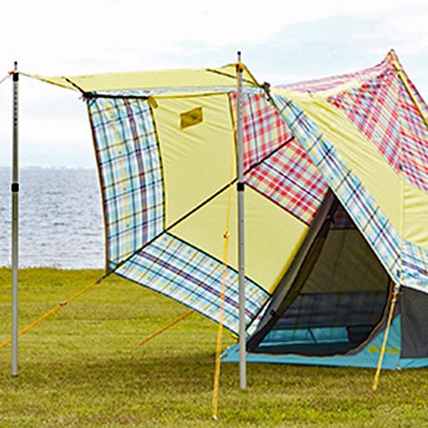 OUTDOOR LOGOS(ロゴス) チェッカーTepee マジックキャノピー 220 71806514テント タープ キャンプ用テント キャンプ4 アウトドアギア