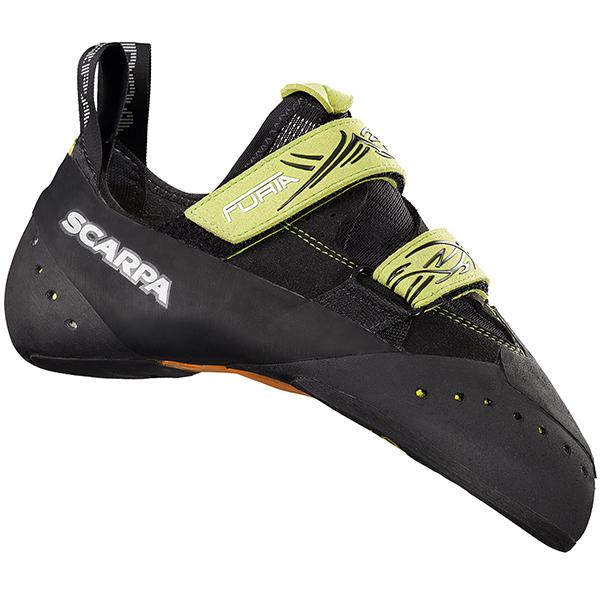 SCARPA(スカルパ) フューリア/ブラック/ライム/#36.5 SC20180アウトドアギア クライミング用 トレッキングシューズ トレッキング 靴 ブーツ ブラック 男性用
