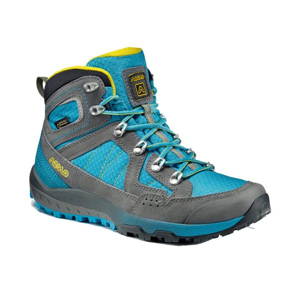 ASOLO(アゾロ) AS.ランドスケープ GV WS/HAWOC/K5.0 1829668アウトドアギア トレッキング用 トレッキングシューズ トレッキング 靴 ブーツ ブルー 女性用
