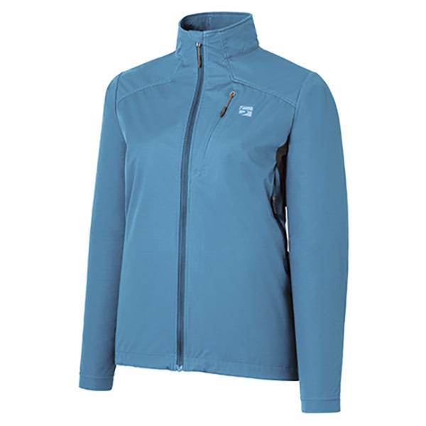 finetrack(ファイントラック) WOMENSフロウラップジャケット/PK/M FAW0901アウトドアウェア ジャケット女性用 ジャケット レディースウェア アウター ブルー おうちキャンプ