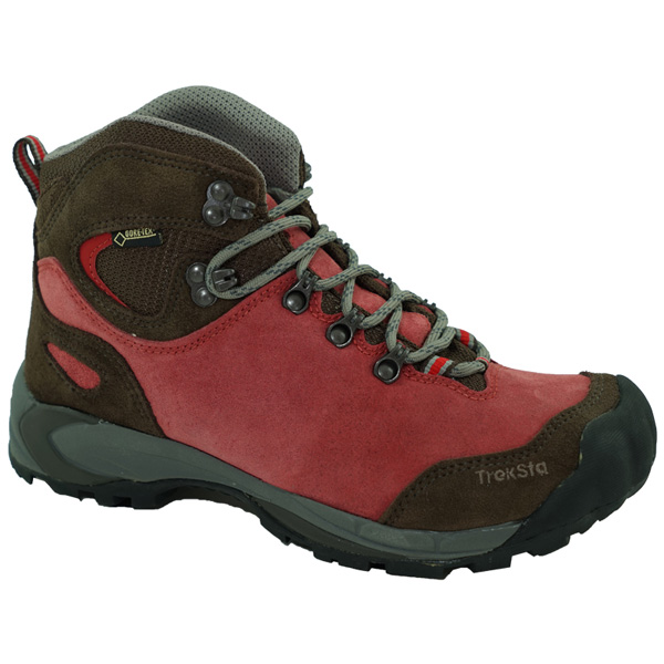 TrekSta(トレクスタ) NESTカラコルムGTX/レッド100/250 EBK512レッド ブーツ 靴 トレッキング トレッキングシューズ トレッキング用 アウトドアギア