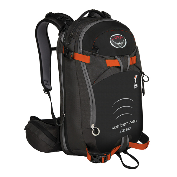 OSPREY(オスプレー) キャンバー ABSコンパチブル 22+10/ブラック/S/M OS52108男性用 ブラック リュック バックパック バッグ トレッキングパック トレッキング20 アウトドアギア