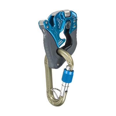 climbing technology(クライミングテクノロジー) クリックアップ プラス ブルー CT-31065アウトドアギア 確保器 ディッセンダー 登山 トレッキング ビレイ機 ブルー