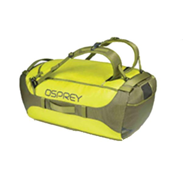 OSPREY(オスプレー) トランスポーター 95/サブライム/ワンサイズ OS55182アウトドアギア トラベル・ビジネスバッグ ボストンバッグ ダッフルバッグ イエロー