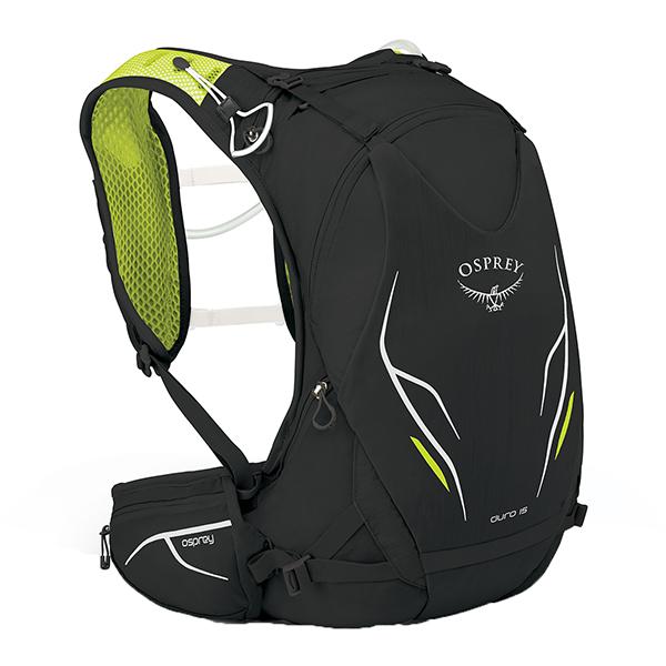 OSPREY(オスプレー) デューロ15/エレクトリックブラック/M/L OS56010アウトドアギア トレラン用パック スポーツウェア アクセサリー スポーツバッグ ブラック 男性用