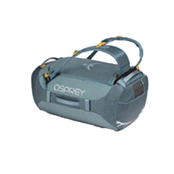 OSPREY(オスプレー) トランスポーター 65/キーストーングレー/ワンサイズ OS55183グレー ダッフルバッグ ボストンバッグ トラベル・ビジネスバッグ ダッフル アウトドアギア