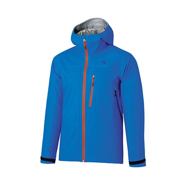 ★エントリーでポイント5倍!finetrack(ファイントラック) エバーブレスフォトンジャケット Ms CB FAM0321男性用 ブルー アウター メンズウェア ウェア ジャケット ジャケット男性用 アウトドアウェア
