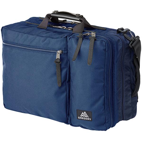 GREGORY(グレゴリー) カバートオーバーナイトミッション/インディゴ 65076ブルー 男女兼用バッグ バッグ ブランド雑貨 トラベル・ビジネスバッグ 3WAYバッグ アウトドアギア