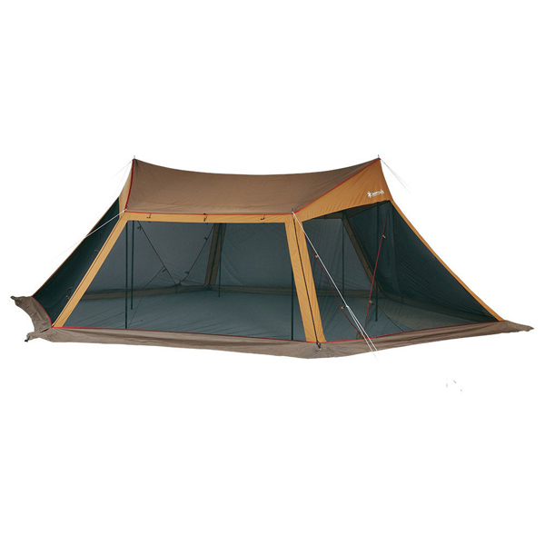 snow peak(スノーピーク) カヤード セット TP-400S六人用(6人用) テント タープ キャンプ用テント キャンプ大型 アウトドアギア