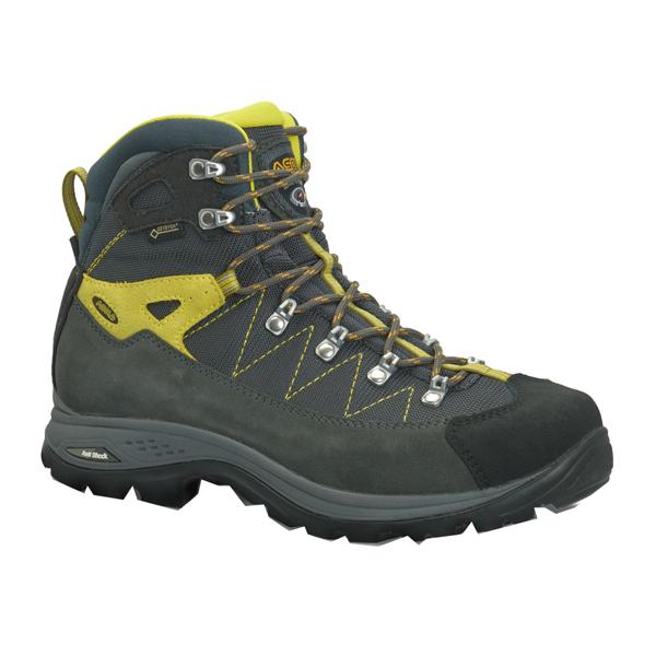 ASOLO(アゾロ) AS.ファインダーGV Ms/GP/GM/K6.5(25.5cm) 1829675アウトドアギア トレッキング用 トレッキングシューズ トレッキング 靴 ブーツ グレー 男性用