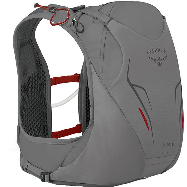 OSPREY(オスプレー) デューロ 6/シルバースコール/M/L OS56011アウトドアギア トレラン用パック スポーツウェア アクセサリー スポーツバッグ シルバー 男性用