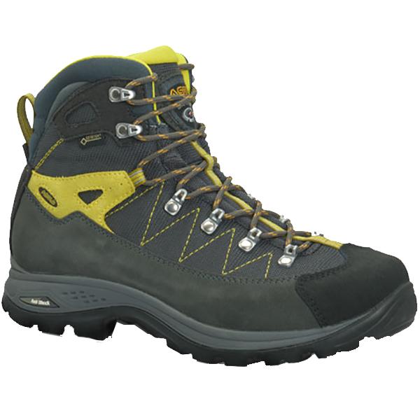 ASOLO(アゾロ) AS.ファインダーGV Ms/GP/GM/K7.0(26.0cm) 1829675男性用 グレー ブーツ 靴 トレッキング トレッキングシューズ ハイキング用 アウトドアギア