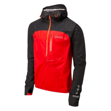 OMM AetherSmock/Black/Red/M OC082-03レインジャケット レインウェア ウェア レインウェア(ジャケット) レインウェア男性用(男女兼用) アウトドアウェア