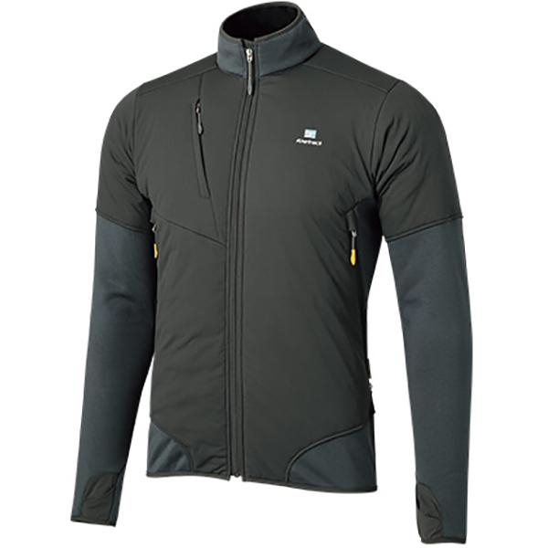 finetrack(ファイントラック) ドラウトポリゴン3アッセントジャケット Ms DG FMM0905男性用 グレー アウター メンズウェア ウェア ジャケット ジャケット男性用 アウトドアウェア