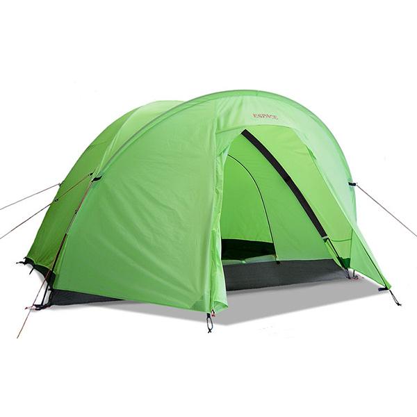 ESPACE(エスパース) スーパーライト Plus4-5人用(レインフライ付) SPLPlusアウトドアギア 登山4 登山用テント タープ 四人用(4人用) グリーン