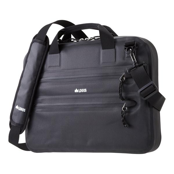 OUTDOOR LOGOS(ロゴス) BLACK SPLASH PCバッグ 88200063ブラック メッセンジャーバッグ ショルダーバッグ 男女兼用バッグ トラベル・ビジネスバッグ アウトドアギア