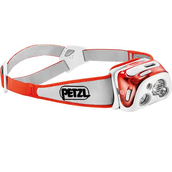 PETZL(ペツル) リアクティックプラス/Coral E95HMIオレンジ ヘッドライト ランタン LEDタイプ アウトドアギア