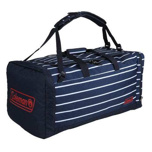Coleman(コールマン) 3ウェイボストン LG (ネイビーボーダー) 2000027399ショルダーバッグ バッグ アウトドア トラベル・ビジネスバッグ トラベルパック アウトドアギア