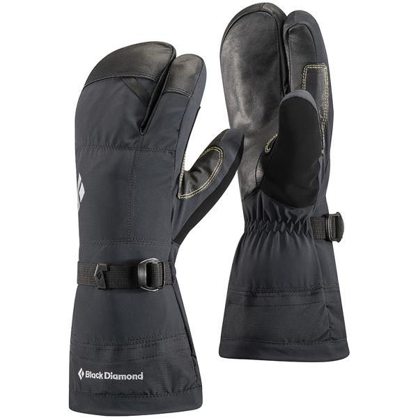 Black Diamond(ブラックダイヤモンド) ソロイスト フィンガー/ブラック/L BD73012男女兼用 ブラック 手袋 メンズウェア ウェア ウェアアクセサリー 冬用グローブ アウトドアウェア