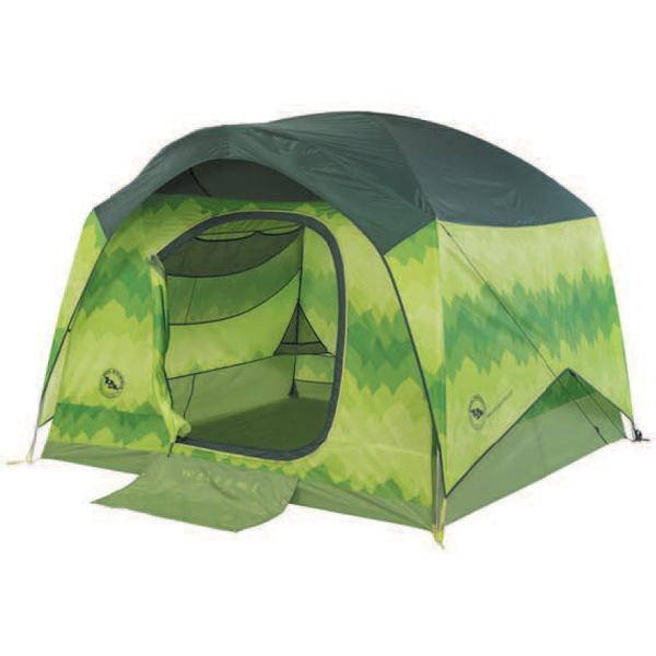 BIG AGNES(ビッグアグネス) ビッグアグネス ビッグハウス 4DX(プリント)/グリーンリーフ TBHGL4DLX18テント タープ キャンプ用テント キャンプ4 アウトドアギア