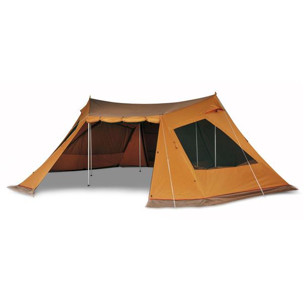 snow peak(スノーピーク) ランドベース6 セット TP-606S六人用(6人用) テント タープ キャンプ用テント キャンプ6 アウトドアギア