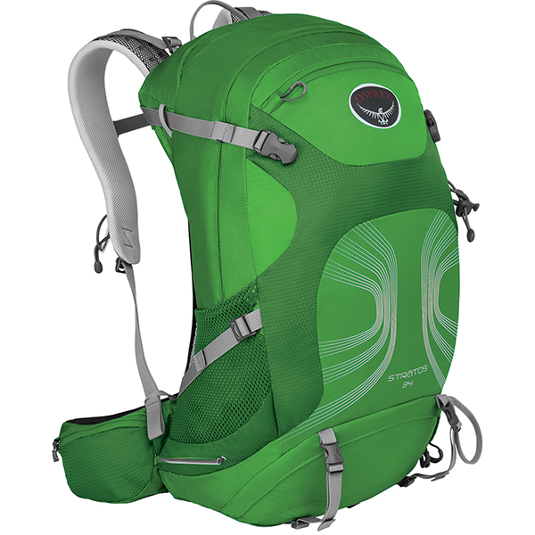 OSPREY(オスプレー) ストラトス 34/パイングリーン/S/M OS50320アウトドアギア デイパック バッグ バックパック リュック グリーン 男性用