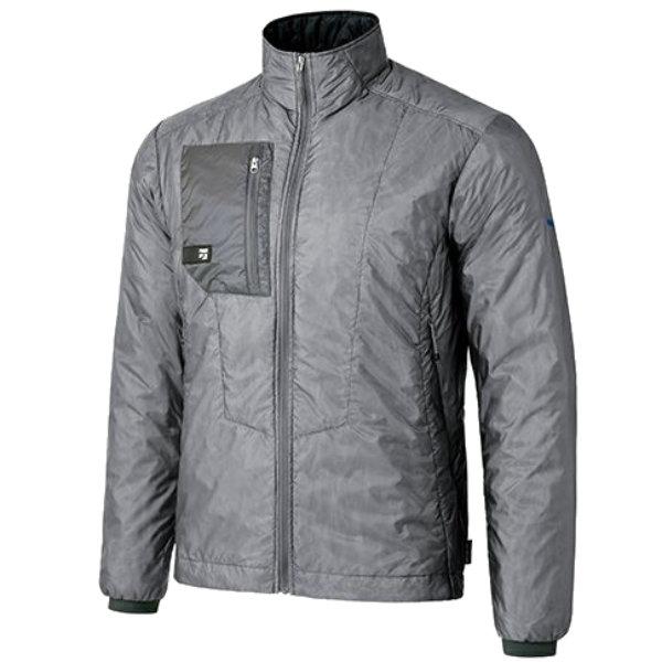 finetrack(ファイントラック) MENSポリゴン2ULジャケット/TI/S FIM0301アウトドアウェア ジャケット 中綿入り男性用 ジャケット 中綿入り メンズウェア アウター グレー